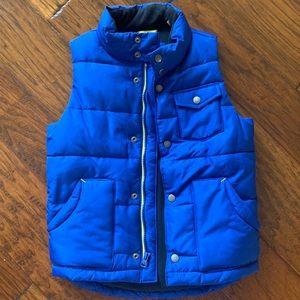 Boys Fleece Lined Vest